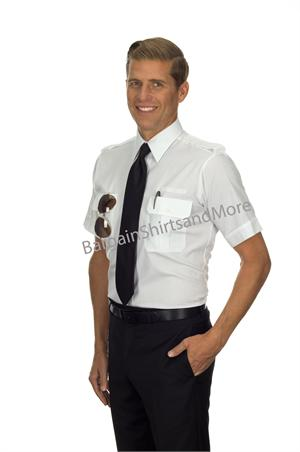 Mens Pilot Tall Pilot Shirts With Eyelets