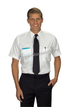Van Heusen Commander Short Sleeve Pilot Shirts
