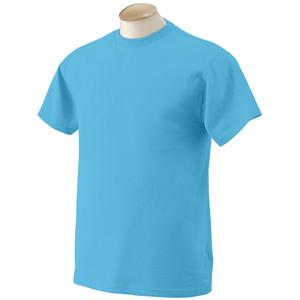 Aquatic Blue - 3930 Fruit of the Loom Heavy Cotton SS Tee Shirts