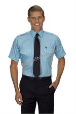 BLUE The Aviator SHORT SLEEVE Pilot Uniform Shirts